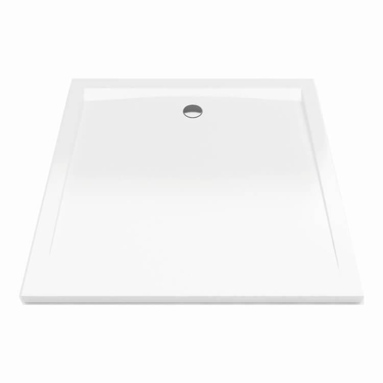 Sprchová vanička Bathmaker A201 čtverec 100×100 cm, akrylát