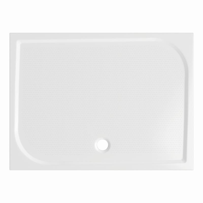 Sprchová vanička Bathmaker A301 obdélníková 100×80 cm, litý mramor