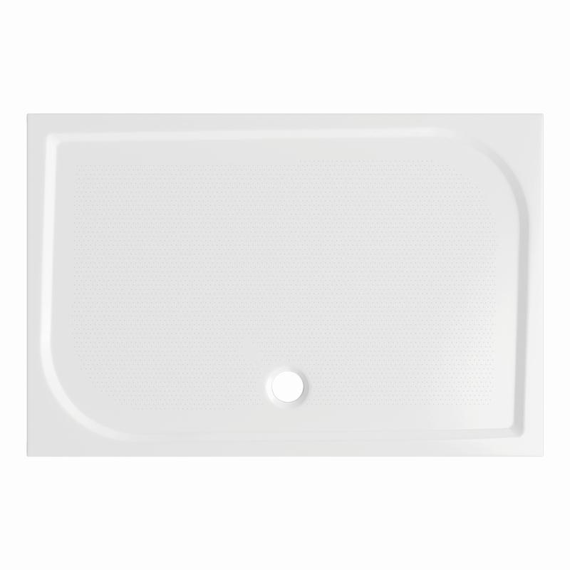 Sprchová vanička Bathmaker A301 obdélníková 120×80 cm, litý mramor