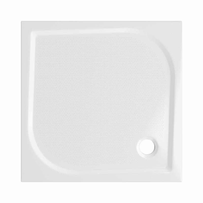 Sprchová vanička Bathmaker A301 čtvercová 80×80 cm, litý mramor