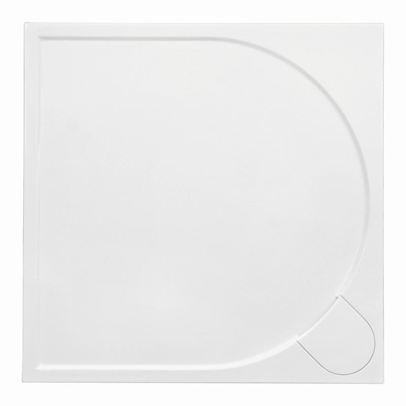 Sprchová vanička Bathmaker A401 čtvercová 90×90 cm, litý mramor
