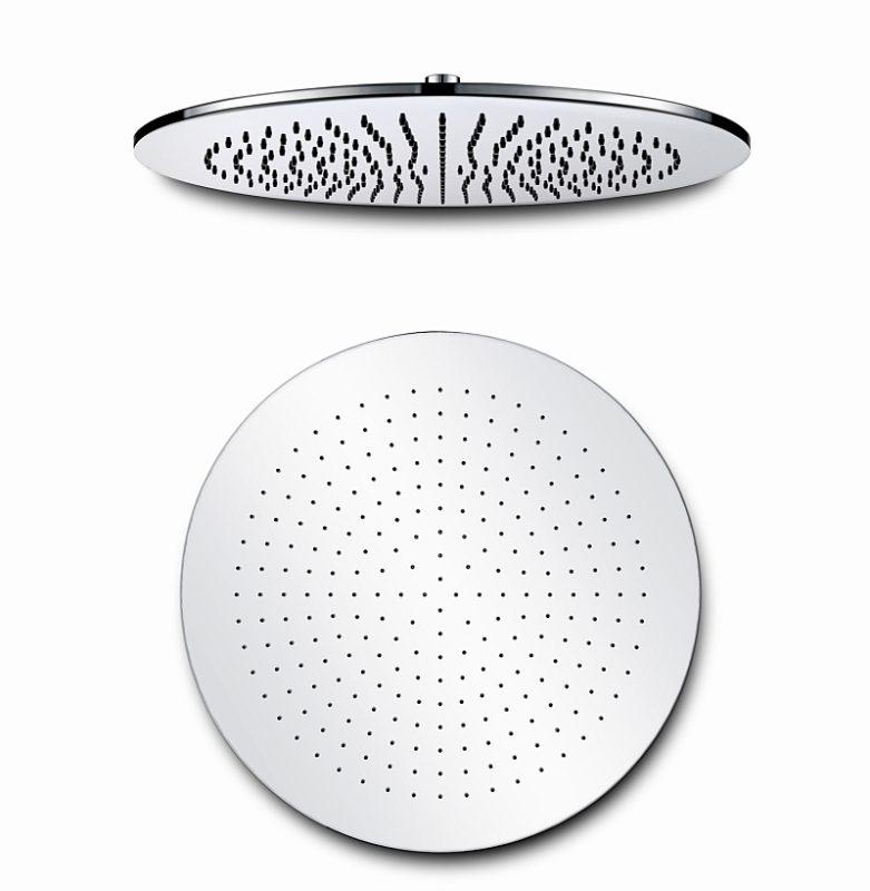Hlavová sprcha mosazná, kulatá 40×40 cm