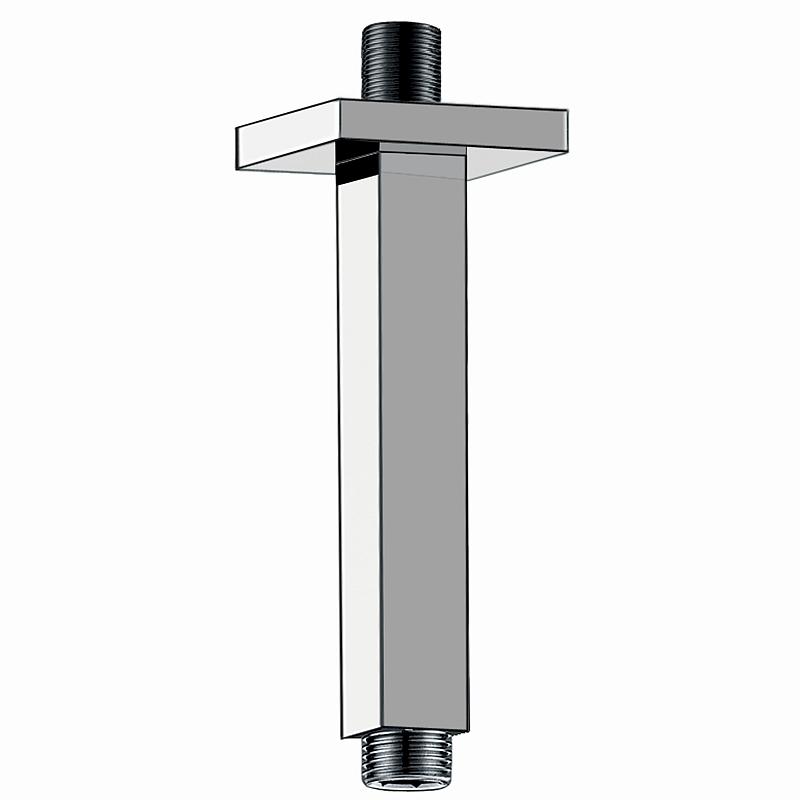 Sprchové rameno mosazné, stropní 20cm